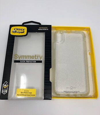 Silver Protective Case (OtterBox Symmetry Series Protective Case for iPhone XS MAX STARDUST SILVER)