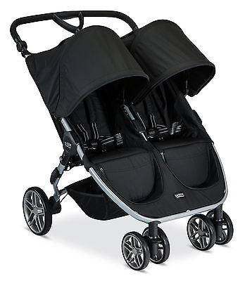 Britax 2016 B-Agile Double Stroller - Black - Brand New! Free Shipping!