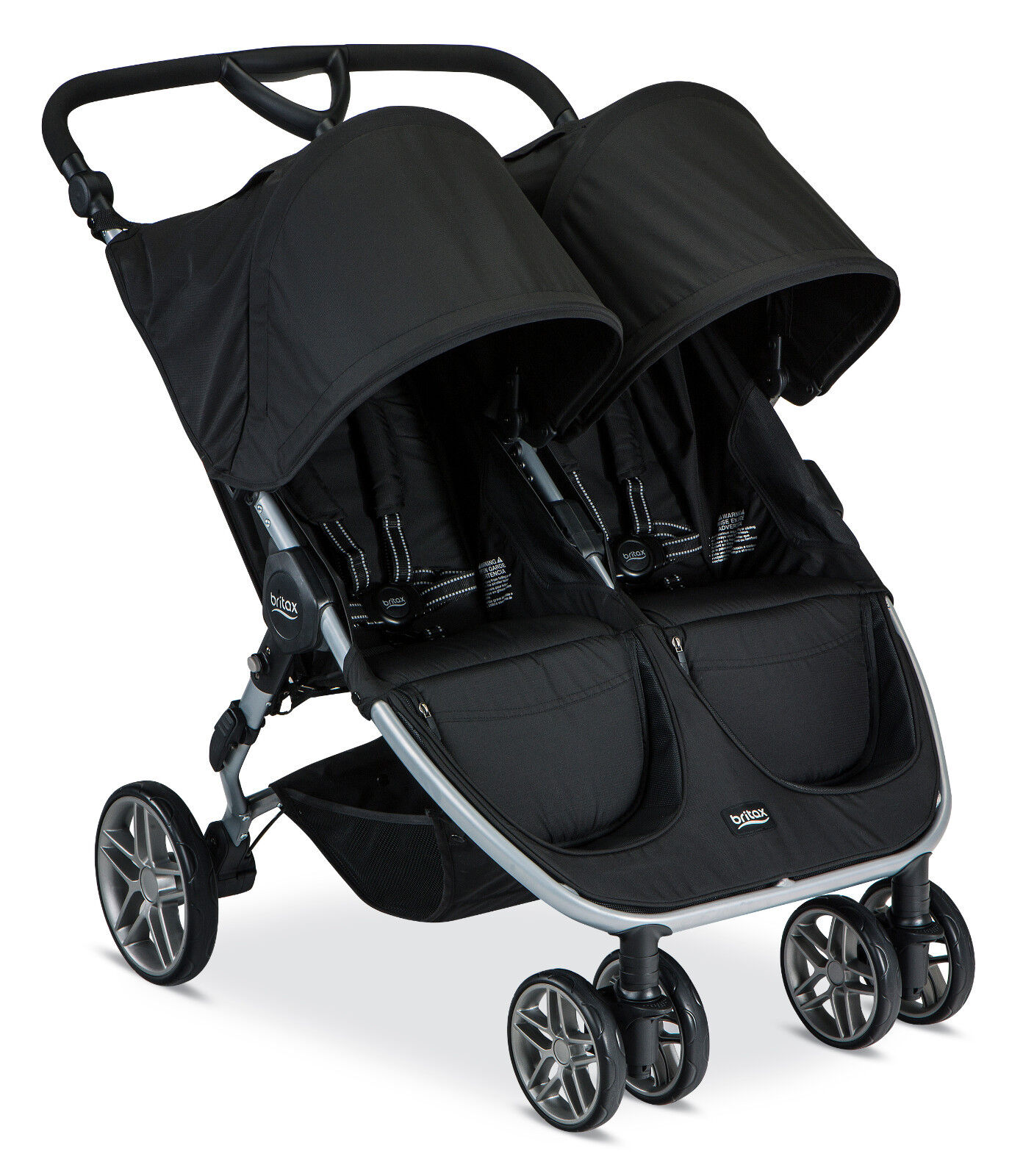 Britax 2016 B-Agile Double Stroller - Black - Brand New! Fre