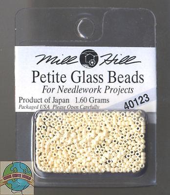 Mill Hill Petite Glass Beads 1.60g Cream #40123