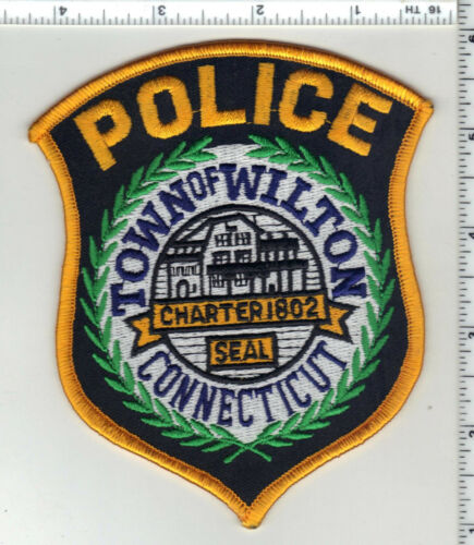 Wilton Police (Connecticut) 2nd Issue Shoulder Patch