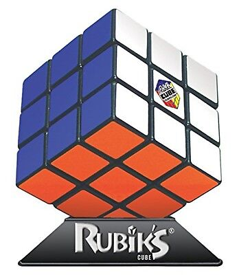Original Rubik Cube Game Base 3X3 Rubix Box Kids Toy Games Brain Teaser w/ Stand