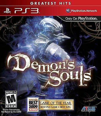$17.56 - Demon's Souls Playstation 3 Game PS3 Brand New