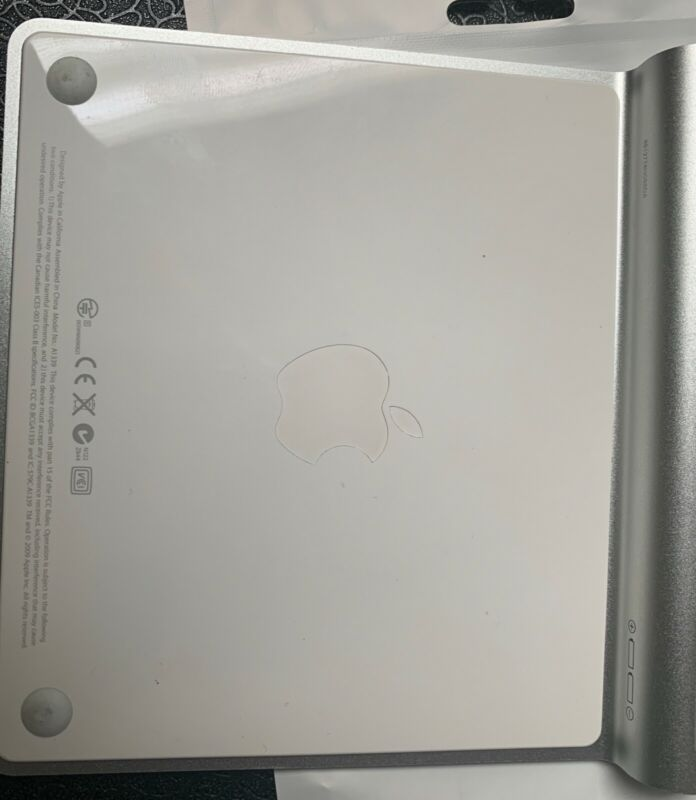 Apple A1339 Magic Trackpad - Silver Bluetooth Wireless