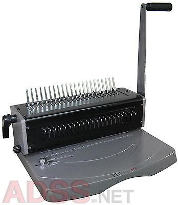 New Pbpro 201 Heavy Duty Plastic Comb Binding Machine