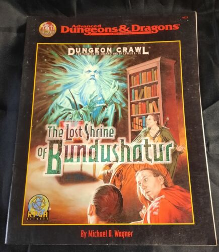 The Lost Shrine Of Bundushatur - Advanced Dungeons & Dragons AD&D Free Shipping