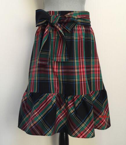 J. Crew Factory Big Bow Midi Skirt NWT US Women's Size: 00 0 2 4 6 8 10 12 14