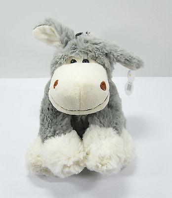 Plüsch Esel mit großen Füßen (19 cm) - NEU