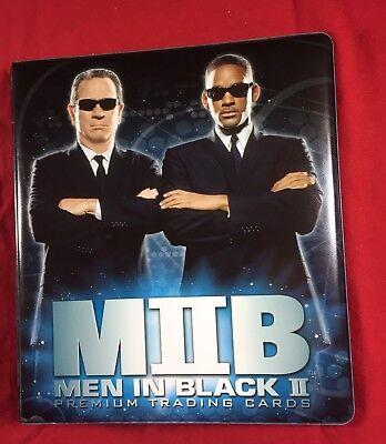 Inkworks Men in Black 2 II Trading Card Binder New Collectors Album Looseleaf