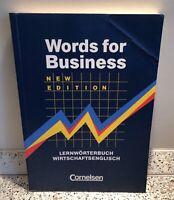 Words for Business: Lernwörterbuch Wirtschaftsenglisch Cornelsen Nordrhein-Westfalen - Selm Vorschau