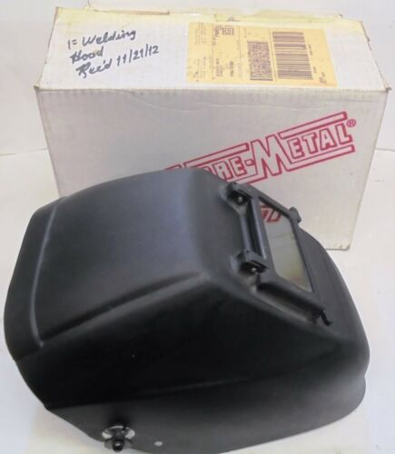 FIBRE-METAL WELDING HELMET, 42006BK, EYE AND FACE PROTECTION