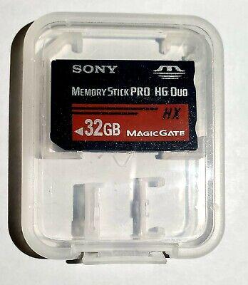 Sony 32GB MS Memory Stick Pro Duo Pro-HG HX Series 50MB/s MS-HX32G 32G (Sony Memory Stick Pro Hg Duo Hx)