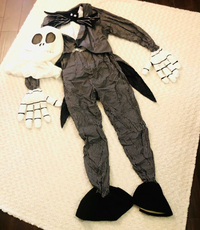 Disney Store 2001 Nightmare Before Christmas Jack Adult Deluxe Costume L NWT!