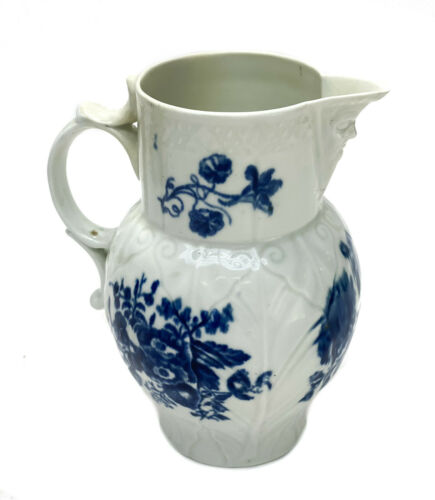 Royal Worcester Dr. Wall England Porcelain Creamer Pitcher, circa 1760