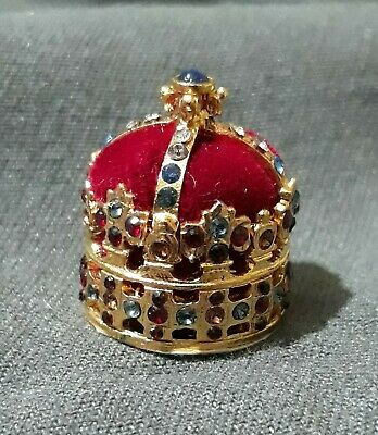 The Miniature Crown Jewel Collection + Crown of Poland & Saxony