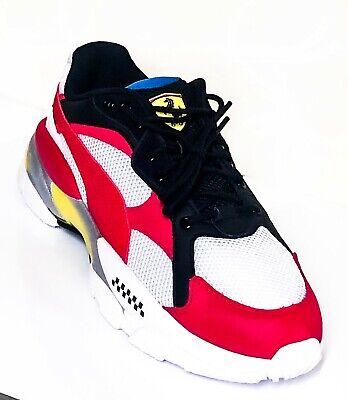 PUMA Scuderia Ferrari LQDCELL Epsilon Men's Sport Shoes Sneakers White Red NEW
