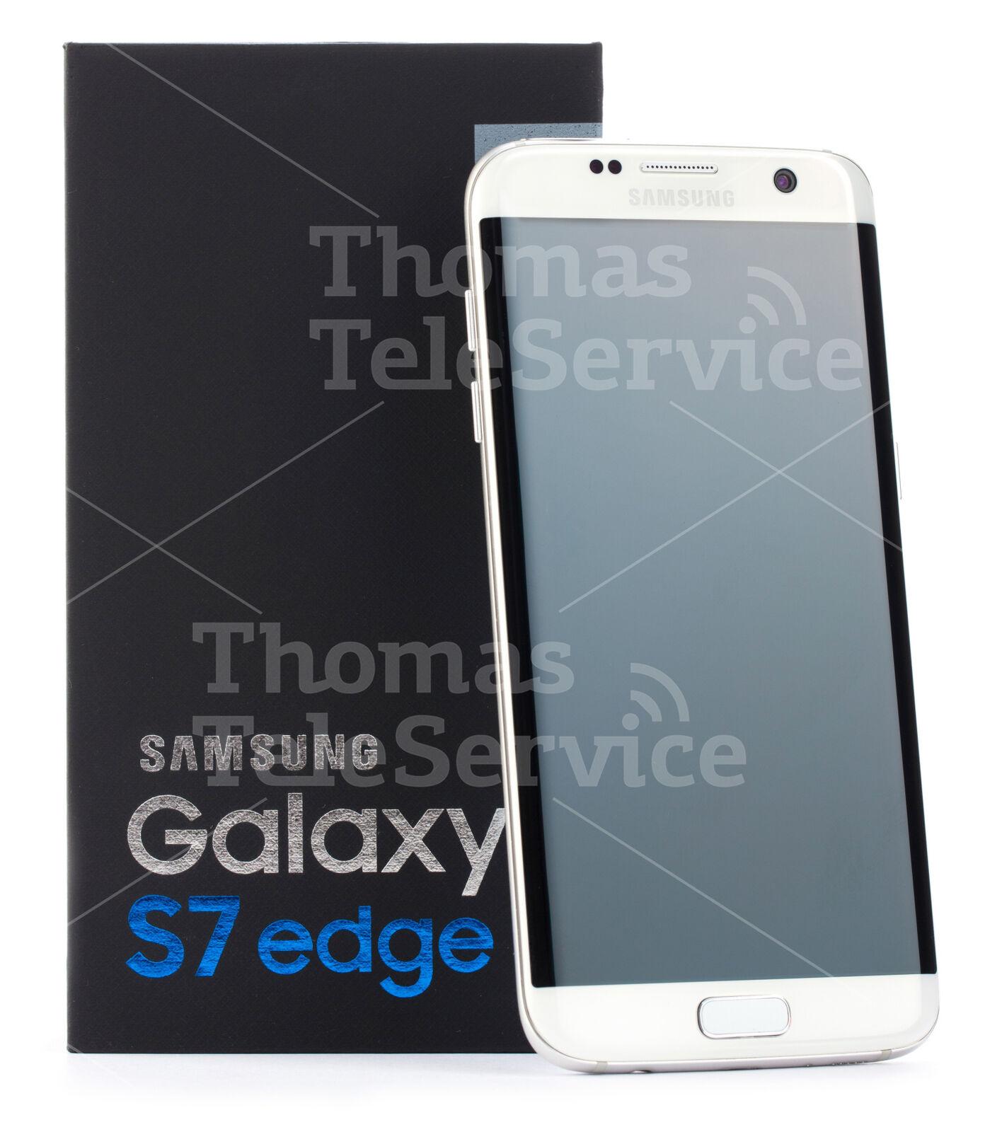 Samsung Galaxy S7 Edge G935f Weiss White Smartphone Handy Android Neu OVP