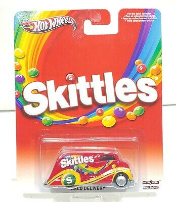 Hot Wheels Pop Culture Skittles Deco Delivery Real Riders