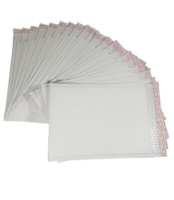 Pack Of 95pcs In Box 9x12 Inches Usable Large White Poly Bubble Mailer Envelopes