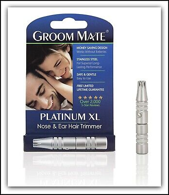 Best Selling Nose Hair Trimmer - Groom Mate Platinum XL - Lifetime Warranty