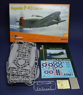 Dora Wings Models 1/48 REPUBLIC P-43 LANCER American Fighter
