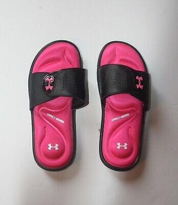 Under Armour Women's Ignite Slides  Sizes   8 9 10 11 12   3022717   Black