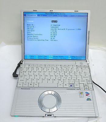 "Panasonic Toughbook T4 12.1"" 40GB 512MB Intel Pentium 1.2 GHz Touchscreen (NO AC"