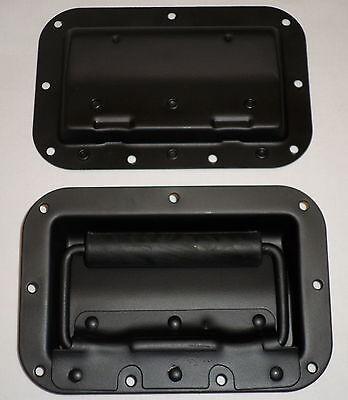 2x Klappgriff für Boxen Lautsprecher Griffe Metall PA NEU #1738 PAAR