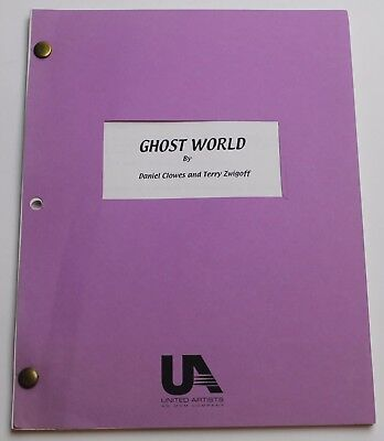 Ghost World * 1986 Movie Script, Academy board Member FYC For your Consideration
