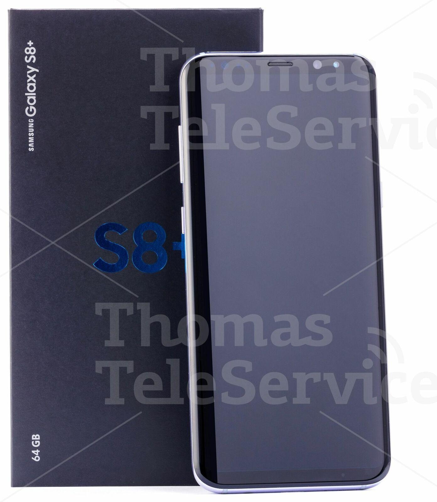 Samsung Galaxy S8 Plus G955f Grey Grau Smartphone Handy Android HD Neu OVP