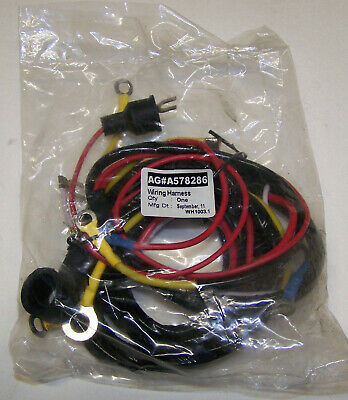 Ford 8n 1948-1950 Main Wiring Harness 8n14401b With Front Mount Distributor