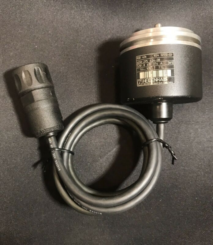 BARELY USED HEIDENHAIN ENCODER ROD WITH 12-PIN CONNECTOR!