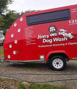 Jims dogwash and grooming mobile van Upper Kedron Brisbane North West Preview