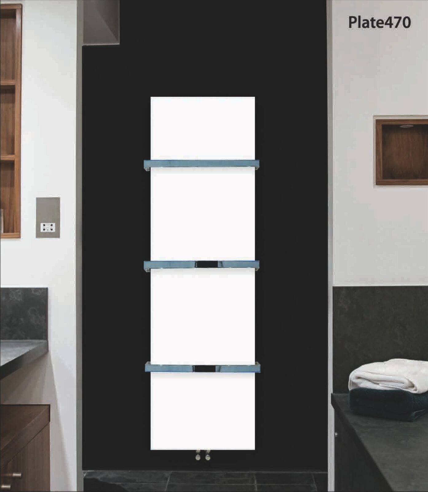 designer heated towel rail radiator bathroom warmer modern luxury elegant rad - Designer Heated Towel Rails For Bathrooms