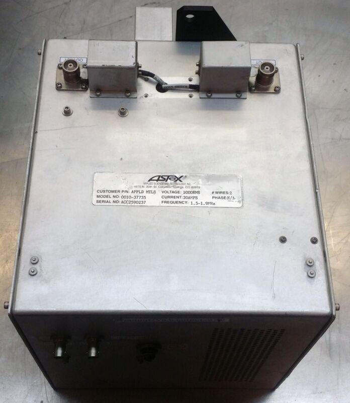 Astex Lf Tuner 1.5 To 1.9 Mhz 20kw Bias Match Network Eto 0010-37735