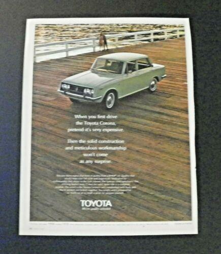 1969 Toyota Corona Color Ad