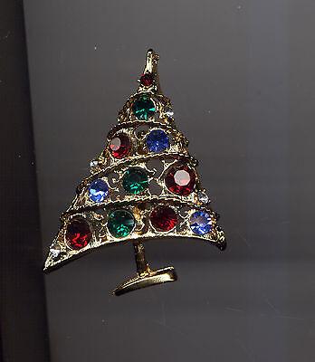 WEISS  BOLD CHRISTMAS TREE PIN