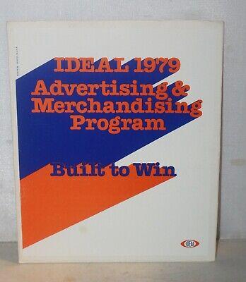 VTG 1979 Ideal Toy Advertising & Merchandising Program Built to Win TCR Racing