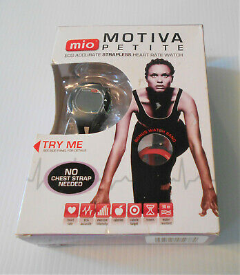 Mountain Heart Rate Monitor - MIO PETITE Motiva Heart Rate Daily Calorie Monitor Sport Watch Extra Band MINT