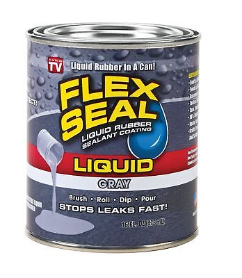 Swift Response Lfsgryr16 16 Oz Flex Seal Liquid Gray