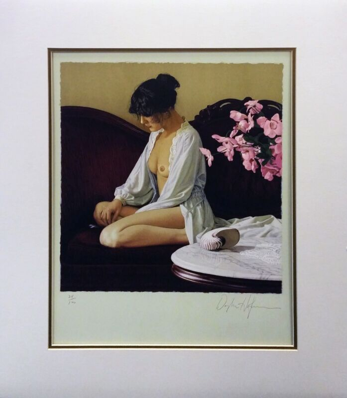 "Douglas Hofmann ""pink Flowers"" 