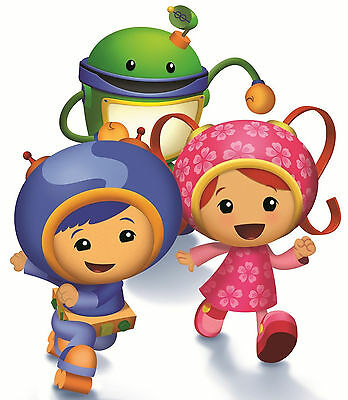 2 5  5 5  Team Umizoomi Group Geo Milli Bot Heat Transfer Iron On Character