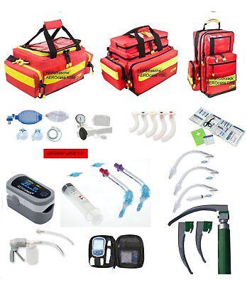 Notfallrucksack o. Notfalltasche AEROcase® gefüllt NFr (Arzt Praxis Feuerwehr)