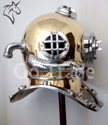 US Navy Vintage Dive Helmet Mark V Antique Diving Divers Marriage Helmet GIFT