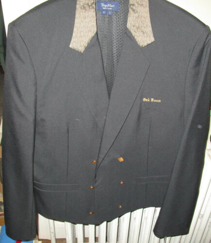 VTG ORIG PLAZA HOTEL NYC TOP HAT BRAND WAITER UNIFORM JACKET from OAK ROOM NWT