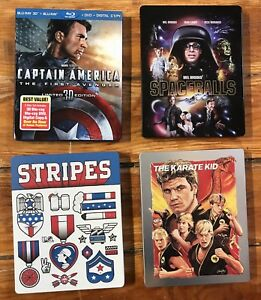 Limited edition and steelbook blurays
