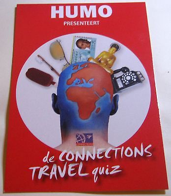 Advertising event Connection Travel Quiz Humo - unposted