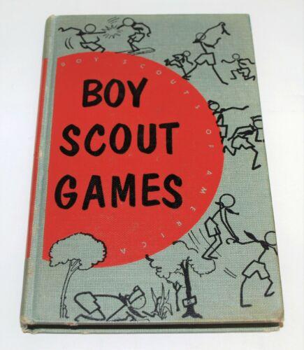 BSA BOOK…BOY SCOUT GAMES…1955 PRINTING