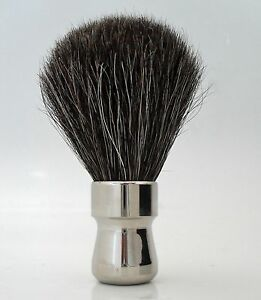NEW-HANDMADE-BADGER-SHAVING-BRUSH-CHROME-RARE-RRP-64-99