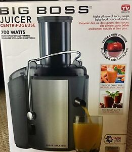 BRAND NEW NEVER OPENED/USED BigBoss Juicer
